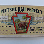 1907 Advertising Book~Pittsburgh Steel Co,PA  Wire Fencing