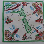 Vintage Hankie New Zealand Graphics