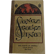 SOLD Boy Scouts Book ~Songs Scouts Sing 1939