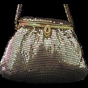 Whiting & Davis 1970's Gold Mesh Handbag