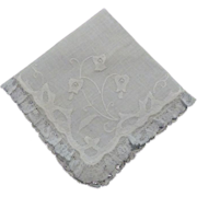 Hankie Handkerchief  Fine Linen and Lace Wedding