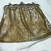 SALE Early Vintage Whiting & Davis Mesh Hand Bag ~ AS IS