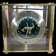 SOLD Pristine Vintage Seiko World Time Mantel Clock