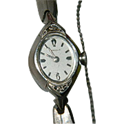 Beautiful Caravelle 10K RGP Diamond Accent Ladies Wrist Watch