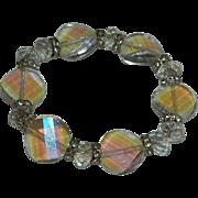 SALE Luscious Faceted Genuine Crystal Beaded Bracelet