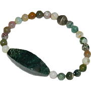SALE Natural Stone Bracelet of Mixed Stones