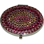 SALE Tarina Tarantino Crystal Compact in Pinks