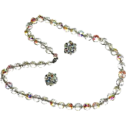 """SALE Quality Art Deco Period Large Faceted Round Bead Necklace ~ 26"""""""