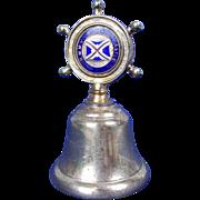 Union Castle R.M.M.V Stirling Castle Nautical Table Bell c1960