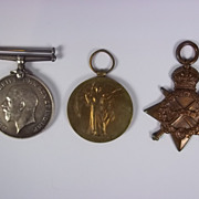 WW11914/15  Medal Trio Awarded to PTE.T.Smith Northumberland Fusiliers