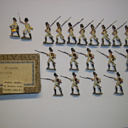 c1900/20 German Grenadiers Austrian Army Tin/Lead Flat Soldiers 19 Pieces, Boxed
