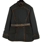 German Officers Tunic From Ulan Regiment with Belt, c.1915 - Private Purchase