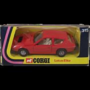 Corgi Toys 315 Lotus Elite 1976-1980