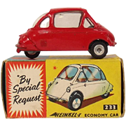 Boxed Corgi 233 Heinkel Bubble Car 1961-64