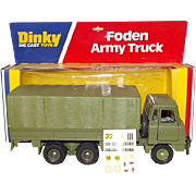 Dinky Toys No. 668 Foden Army Truck, Boxed #1