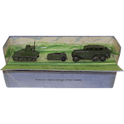 Pre-War Boxed Dinky Toys No. 152 Royal Tank Corps Light Tank Unit Set #3