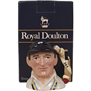 Royal Doulton D6945 Len Hutton Cricketers Series Character Jug