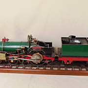5 Inch Gauge Live Steam Model Of A Crampton Locomotive