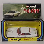 Corgi 320 The Saints Jaguar XJS #1