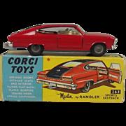 Boxed Corgi Toys 263 Marlin Rambler Sports Fastback 1966/69