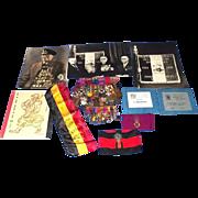 WW1 DSO Belgian Group Of 31 Medals & Miniatures & Documents Robert Putteman