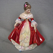 Royal Doulton Small Figurine No. HN3174 of 'Southern Belle'  by Peggy Davies