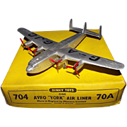 Boxed Dinky Toys No.704 / 70A Avro York Air Liner