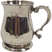 Circa 1745 George II Sterling Silver Tankard / Mug
