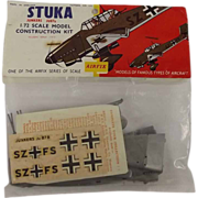 SOLD Sealed Airfix 1/72nd Scale Series 1 - Junkers Ju87B Stuka 1959/63