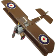 Givejoy Toys Skybirds 1/72nd Scale 5A Aircraft Sopwith Pup Made 1935-42