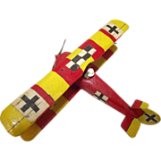 Givejoy Toys Skybirds 1/72nd Scale Aircraft Pfalz Dr1 Triplane Made 1935-42