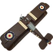 Givejoy Toys Skybirds 1/72nd Scale Aircraft Sopwith TF.2 Salamander (No.5D) Made 1935-42