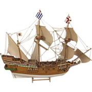 Sir Francis Drakes The Golden Hind 1577 1:53 Scale