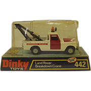 Dinky 442 Land Rover Breakdown Crane