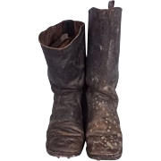 WWI German Cavalry Boots