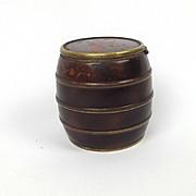 Circa 1880 Cigarette Ash Tray Barrel