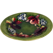 Orchid Pattern Bowl By William Moorcroft Circa 1928/49