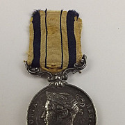 South Africa Medal 1854 Robert Johnston Cornet 7th Dragoon Guards
