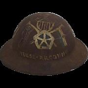 WW1 American 2nd Pattern Brodie 7th Artillery Motorised Division Helmet