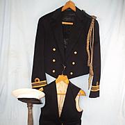 cWW2 Gieves Royal Navy No. 1 Lieutenant-Commander Dress Uniform Set