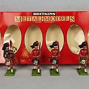 1982 Britains Toy Soldiers 7237 Set Black Watch