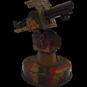 1930's Mettoy Tinplate Anti-Aircraft Gun