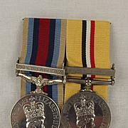 Operational Service Medal & Iraq Medal - SAC M BROWN RAF