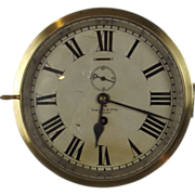 SOLD Lobnitz & Co Ltd Brass Ships Bulkhead Clock