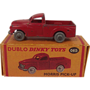 Dublo Dinky Toys No. 065 Morris Pick-Up 1957-1960
