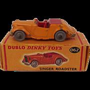 Dublo Dinky Toys No. 062 Singer Roadster 1958-1960