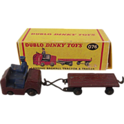 Dublo Dinky Toys No. 076 Lansing Bagnall Tractor & Trailer 1958-1964