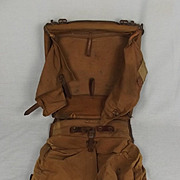 WWI Imperial German Army Backpack 1914