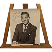 Signed Autograph Gordon Macrae Studio Shot Photograph Circa 1950's
