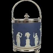 1865 Wedgwood Biscuit Barrel